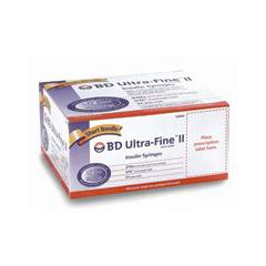 MON684172BX - BD - Ultra-Fine™ Insulin Syringe with Needle, 10/PK, 10PK/BX