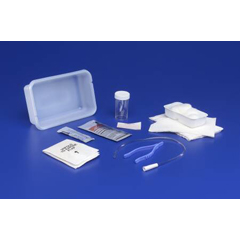 MON32511900 - MedtronicIntermittent Catheter Tray Curity Open System/Urethral 16 Fr. w/o Balloon Red Rubber