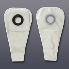 MON32744910 - HollisterColostomy Pouch Karaya 5 One-Piece System 16 Inch Length 1-1/2 Inch Stoma Drainable