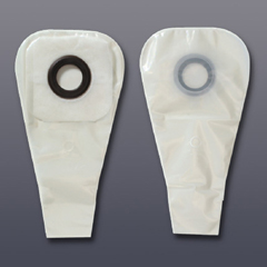 MON32754910 - Hollister1 Piece Drainable Ostomy Pouch w/Karaya 5 Ring 2in Opening Transparent