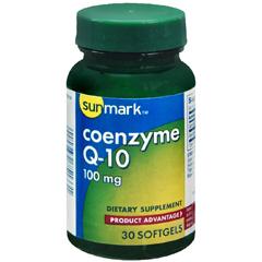 MON32952700 - McKessonCoenzyme Q-10 sunmark® 100 mg Softgels, 30 per Bottle