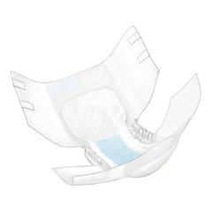 MON33053101 - Cardinal Health - Simplicity™ Unisex Adult Incontinence Brief