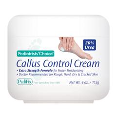 MON33101400 - PedifixCallus Cream Podiatrists Choice® Cream 4 oz. Jar