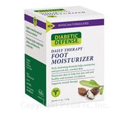 MON33151400 - PedifixFoot Moisturizer Diabetic Defense® Cream 4 oz. Tube