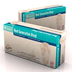 MON33181300 - DynarexExam Glove Next Generation Vinyl NonSterile Powder Free Stretch Vinyl Smooth Medium Ambidextrous (6823)