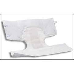 MON33343101 - AttendsIncontinent Brief Attends Confidence Tab Closure Large Disposable Moderate Absorbency