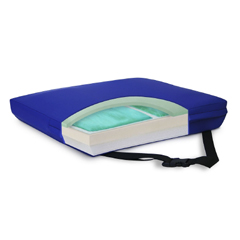 MON33394300 - New York Orthopedic - Seat Cushion APEX CORE 18 W X 16 D X 3 H Inch Gel / Foam, 1/ EA