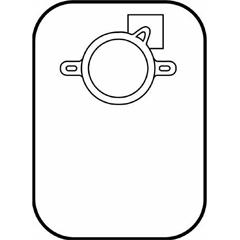 MON33474900 - HollisterColostomy Pouch CenterPointLock™, #3347,15EA/BX