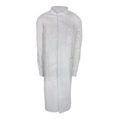 MON33648503 - McKessonLab Coat White 2 X-Large Long Sleeve Mid Length, 10/BG 3BG/CS
