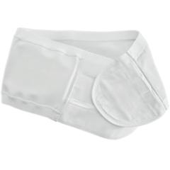 MON1124364BX - Coloplast - Ostomy Support Belt Brava 3X-Large, 50 to 58 Inch Waist, White, 1 EA/BX