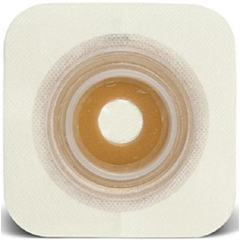 MON34224900 - Convatec - Skin Barrier SUR-FIT Natura Stomahesive Moldable 1-3/4 Flange Acrylic Collar 7/8 to 1-1/4 Stoma Medium