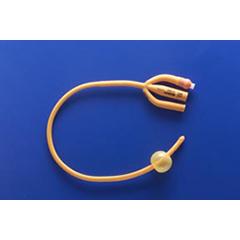 MON34301901 - Teleflex MedicalFoley Catheter 3-Way 30 cc Balloon 16 Fr. (183430160)