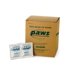 MON34341100 - SafetecAntimicrobial Hand Wipe Paws® 5 X 8 Inch, 100EA/BX