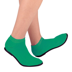 MON34711201 - PBESlippers Pillow Paws Emerald Ankle High