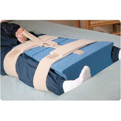 MON35013000 - Sammons PrestonHip Abduction Pillow Rolyan® Wedge Flex® Large Hook and Loop Strap Closure