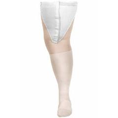 MON35200300 - Carolon CompanyAnti-embolism Stockings CAP Thigh-high 2 X-Large, Long White Inspection Toe