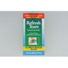 MON381236EA - Allergan Pharmaceutical - Eye Lubricant Refresh Tears 1 oz. Eye Drops, 1/ EA