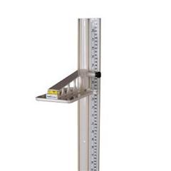 MON35363700 - Health O MeterHeight Rod Health O Meter Wall Mount, Lightweight, Portable Model 402 Series Scale