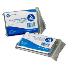 MON35371100 - DynarexRescue Blanket 52 W X 84 L Inch Mylar, Aluminum, 120EA/CS