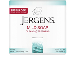 MON35631800 - KAO Brands - Soap Jergens Bar 3.5 oz. Individually Wrapped Scented