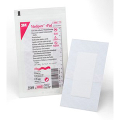 MON35692140 - 3M - Medipore™ +Pad Soft Cloth Adhesive Wound Dressing (3569)