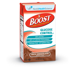 MON36022600 - Nestle Healthcare NutritionBoost Glucose Control Chocolate 8 Oz