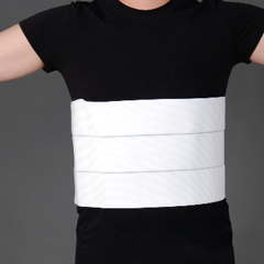 MON36063000 - Pepper MedicalAbdominal Binder Large Hook and Loop Closure 60 to 75 Inch