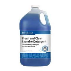 MON867363CS - US Chemical - Fresh and Clean Laundry Detergent, 4 EA/CS