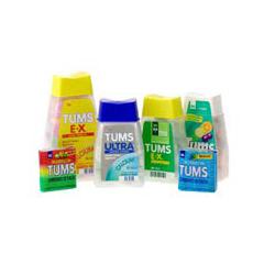 MON36382700 - McKessonAntacid Tums® Ultra 72 per Bottle Chewable Tablet