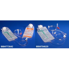 MON36424600 - MedtronicEnteral Feeding Pump Bag Set Kangaroo 1000 mL