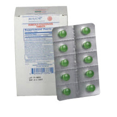 MON36742700 - Major PharmaceuticalsIron Supplement 324 mg Strength Tablet 100 per Box