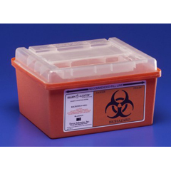 MON36992800 - MedtronicSharps-A-Gator™ Sharps Container, Slide Lid, Red, 1 Gallon