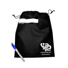 MON37091200 - Infection Prevention Products2.0 IPD Pouch with Drawstrings, 10/PK, 10PK/BX