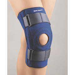 MON37123000 - BSN MedicalKnee Support SAFE-T-SPORT Large Loop Lock Straps 18 to 19 Circumference Left or Right Knee