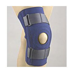 MON37133000 - BSN MedicalKnee Stabilizer SAFE-T-SPORT X-Large Loop Lock Straps 20 to 21 Circumference Left or Right Knee