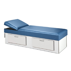 MON1062252EA - Clinton Industries - Recovery Couch Model 3713 Cabinet Style Base, 1/ EA