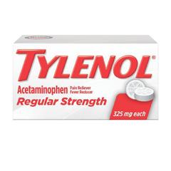 MON37422700 - Johnson & JohnsonTylenol® Regular Strength Acetaminophen Tablets, 325 mg