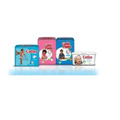 MON37863100 - First QualityDiaper Cuties® 16-28 lbs. Size 3, 36EA/PK, 4PK/CS