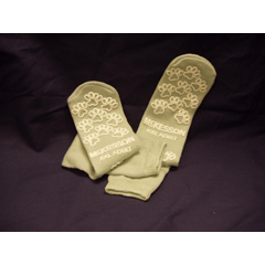MON38001208 - McKessonSlipper Socks Adult 2 X-Large Gray Above the Ankle