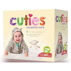 MON1102738EA - First Quality - Cuties Complete Care Diaper (CCC13)