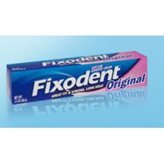 MON38181700 - Procter & GambleDenture Adhesive Fixodent® Original 1.4 oz. Cream