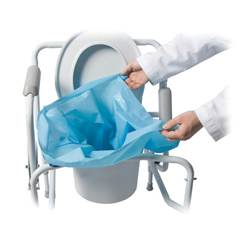 MON38214100 - CleanwasteSani-Bag+® Commode Liner, 200EA/CS