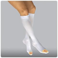 MON38360300 - Patterson MedicalAnti-embolism Stockings Jobst Anti-EM/GP Knee-high X-Large, Regular Open Toe