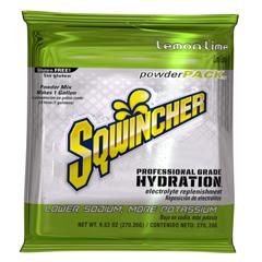 MON38362604 - Kent Precision FoodsSqwincher Powder Pack  Lemon Lime Flavor 9.53 oz., 20/BX