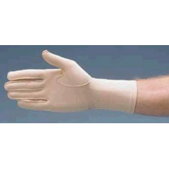 MON38363000 - Patterson MedicalCompression Glove Full Finger Small Over-the-Wrist Left Hand Lycra / Spandex