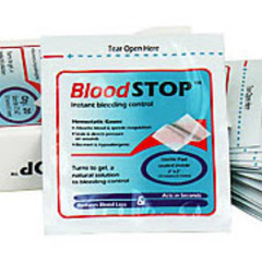 MON38402000 - Lifescience PLUS - Gauze Hemostatic Bloodstop 20/BX
