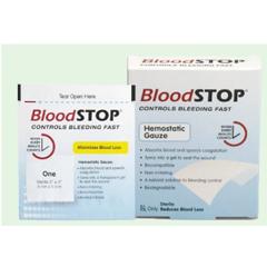 MON38412000 - Lifescience PLUSGauze Hemostatic Bloodstop 20/BX