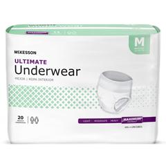 MON1123835BG - McKesson - Unisex Adult Absorbent Pull On Underwear