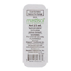 MON38794901 - Ferndale Laboratories - Liquid Bandage Mastisol® 2/3 mL