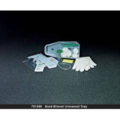 MON38831920 - Bard MedicalIndwelling Catheter Tray Bardex Lubricath Foley 18 Fr. Silicone